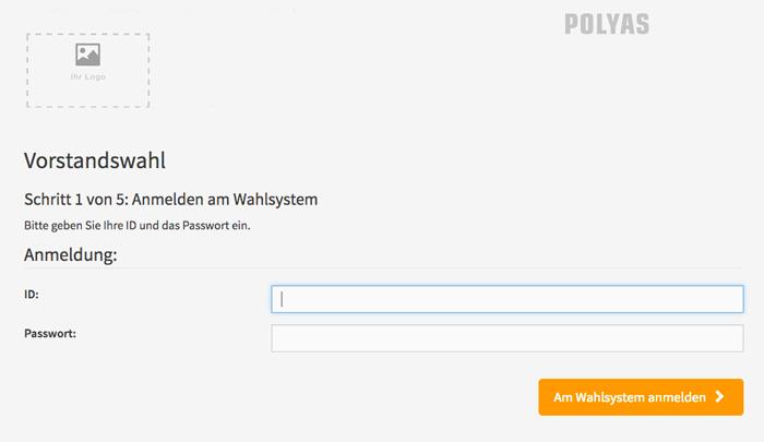 Einfach zur Online-Stimmabgabe anmelden