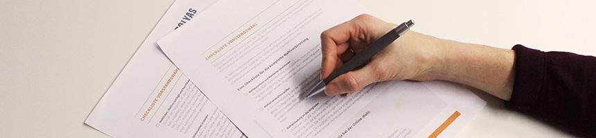 Laden Sie sich jetzt eine kostenlose Checkliste für die Vorstandswahl in Ihrem Berufsverband herunter