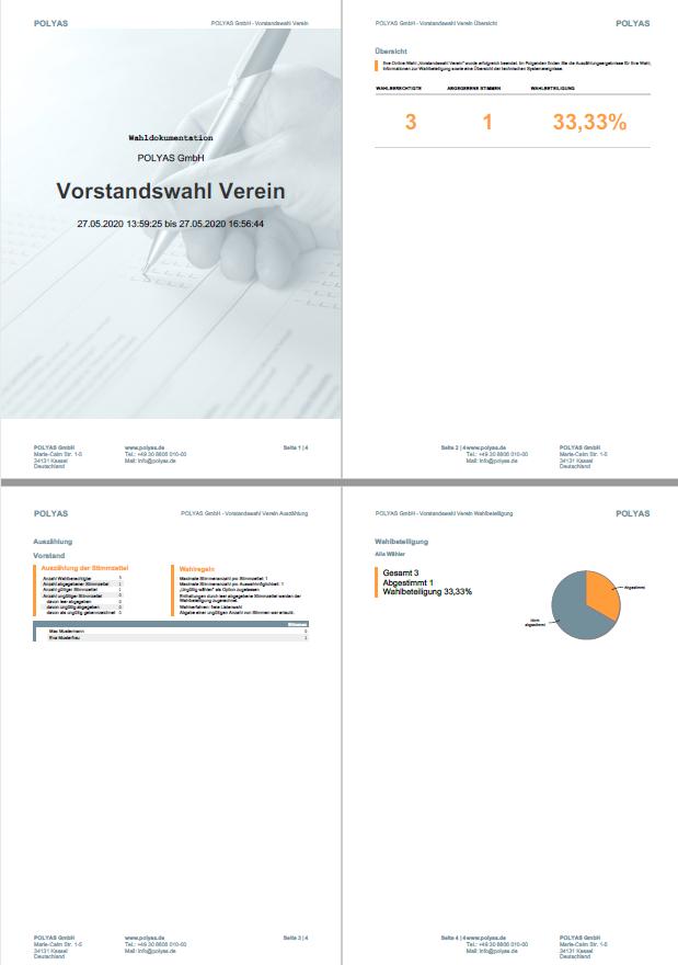 Ergebnis als PDF herunterladen