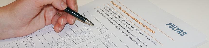 Hier finden Sie kostenlose Stimmzettel-Vorlagen für Ihre Hochschulwahlen