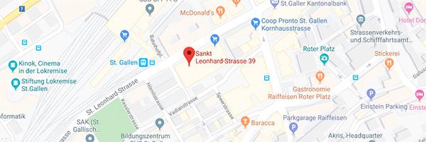 POLYAS Adresse in der Schweiz