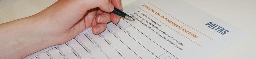 Laden Sie sich kostenlose Stimmzettel-Vorlagen für Ihre Vereinswahl herunter