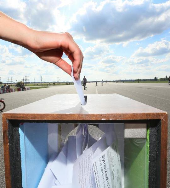 So wird das Öffentlichkeitsprinzip bei einer Online-Wahl mit POLYAS umgesetzt